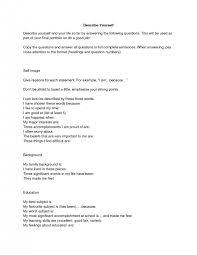 sample essay introduction myself describe yourself essay examples describe yourself sample essay