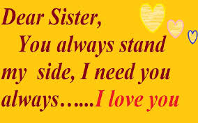 Sister Love Quotes Adorable 48 Love Quotes For Sister Samplemessages Blog