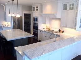 White Marble Kitchen Floor Classic And Timeless The White Kitchen