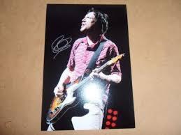 12x8 photo autographed john frusciante