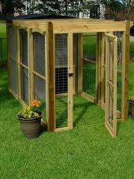 Build Your Own Dog Run | How to Build a Dog Run With Attached Doghouse :