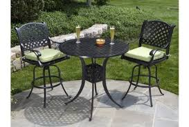 PatioImport Heritage Outdoor Living Nassau Cast Aluminum 3pc Outdoor