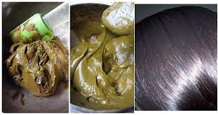 henna powder to make white hair black