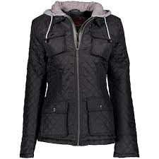 Yoki Black Faux Sherpa Lined Shell Jacket 25 Liked On