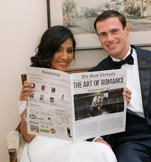Wedding Invitation Newspaper Template Wedding And Anniversary Newspapers Print And Digital