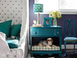 dog bed ideas. Interesting Dog Updated Nightstand With Builtin DIY Pet Bed Throughout Dog Ideas F