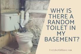random toilet in your basement