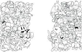 Coloring Pages Mario Mario Bros Coloring Page Flower Grower Com