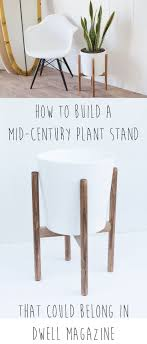 How to Build a Mid-Century Inspired Plant Stand that Looks Like it Belongs  in a Dwell Magazine. Weekend ProjectsDiy ...