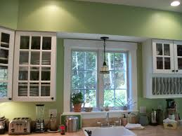 kitchens with white cabinets and green walls. Green Kitchen 2 Kitchens With White Cabinets And Walls