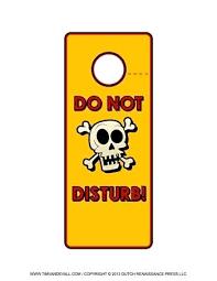 Free Door Hangers Templates Do Not Disturb Sign Template Free Printable Door Hanger