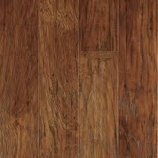 allen roth marcohickory 4 85 in w x 3 93 ft l handsed wood plank