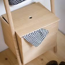 Kommod Lokks Ladder Shelf Oak