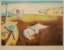 salvador dali s famous painting the persistence of memory the melting clocks represent the fluid and dynamic nature of space and time particularly in