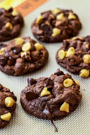 peanut butter chocolate cookies. Contemporary Peanut Decadent Fudge Chocolate Cookies Filled With Peanut Butter Chips And  Chips Sallysbakingaddictioncom With Peanut Butter Chocolate Cookies