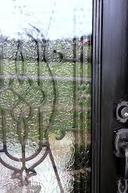 diy glass door insert