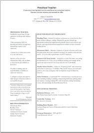 Preschool Teacher Resume New 48 Quick Preschool Teacher Resume Examples Iu E488729 Resume Samples