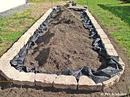 how to build a raised garden bed pet scribbles