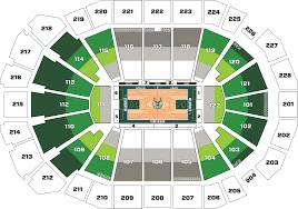 Wisconsin Entertainment And Sports Center Seating Chart Milwaukee Bucks Stadium Seating Chart Milwaukee Bucks