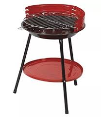 bbq portable 36cm round garden picnic party camping outdoor cooking barbecue 4033519700181