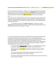 Glacier Environmental Activity 1 Docx A Fill In The
