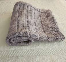 Easy Baby Blanket Knitting Patterns For Beginners Extraordinary Easy Knit And Purl This Pattern Is For A Baby Blanket But This