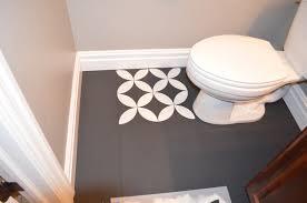 diy paint bathroom tile floor. diy painted tile marvelous bathroom floor and paint