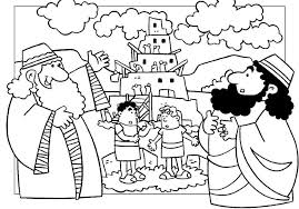 Small Picture Great Tower Of Babel Coloring Page 68 For Your Coloring Pages for