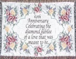 image is loading 60th wedding anniversary throw 60th anniversary gift made