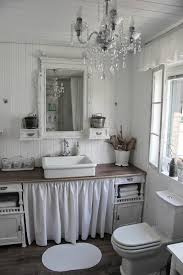 shabby chic bathroom bathroom. Shabby Chic Bathroom Design With Ruffle Details