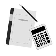 簿記経理会計事務 フリーイラスト素材資格技能