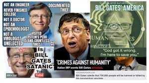 Bill Gates, bogeyman of virus conspiracy theorists