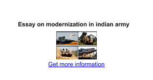 essay on modernization in n army google docs