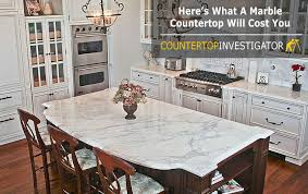here s what a marble countertop will cost you a countertop made of