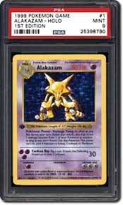 robert hebb who has embled the entire 1999 pokémon 1st edition set in psa 10 grade has noticed the same trend