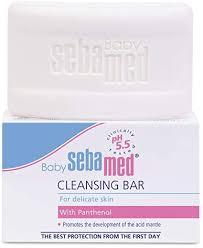 <b>Sebamed Baby Cleansing Bar</b> 100g - (Pack of3): Amazon.co.uk ...