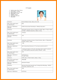 Cv Job Application Example Example Of Cv For Job Application Resume