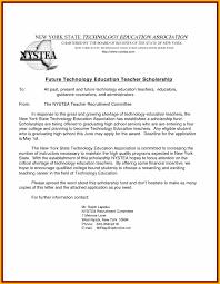 10 Cover Letter For Scholarships Bursary Cover Letter
