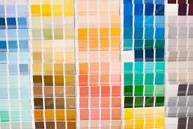 Color Spectrum Chart Color Spectrum Chart Stock Photo Brianholm 115829704