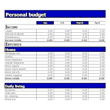 Financial Budget Planner Template Household Budget Planner Template