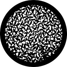 Cool Gobo Designs Leaf Motif 78717 Pattern Art Leaves Blue Leaves