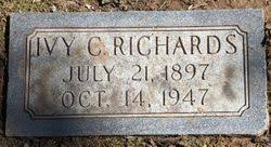 "Susie Iva ""Ivy"" Cunningham Richards (1897-1947) - Find A Grave Memorial"