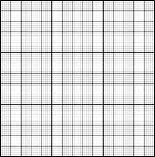 Graph Paper Plain With Emphasised Guide Lines