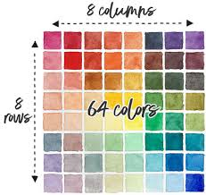 To view/print a free color wheel chart, click the respective link to open it, and select print from the menu. How To Make A Watercolor Mixing Chart Step By Step