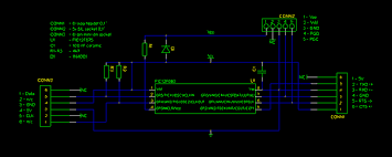 rs ps interface circuit diagram