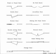 floor plan symbols door. Plain Symbols Sliding Door Floor Plan Best Symbols With R