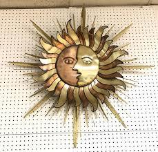 mixed metal copper brass sun
