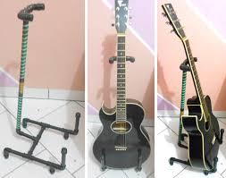 suporte para violão cano pvc guitar stand pvc pipes
