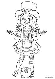 Our leprechaun coloring sheets can be printed as many times you want. Free Printable Leprechaun Coloring Pages For Kids