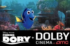 see finding dory dolby cinema at amc in newark ca